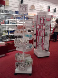 Plv cosmetique rayon magasin